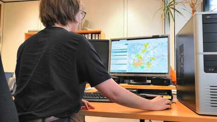 online portal for data concerning climate change in Aachen and the surrounding area
